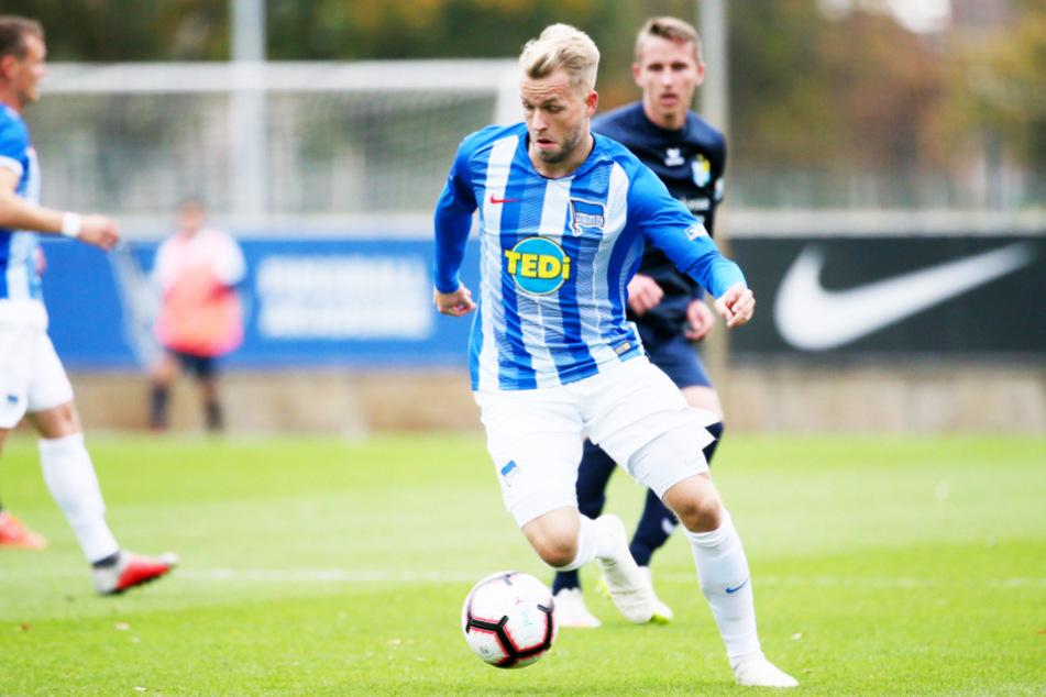 Pascal Köpke (25) konnte sich in seinen zwei Jahren bei Hertha BSC nicht durchsetzen.