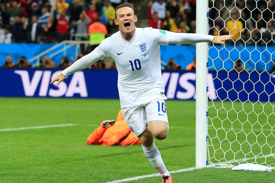 """Wayne Rooney (35) lief 120 Mal für England auf und erzielte dabei 53 Treffer. Damit ist er bis heute der Rekordtorschütze der """"Three Lions""""."""