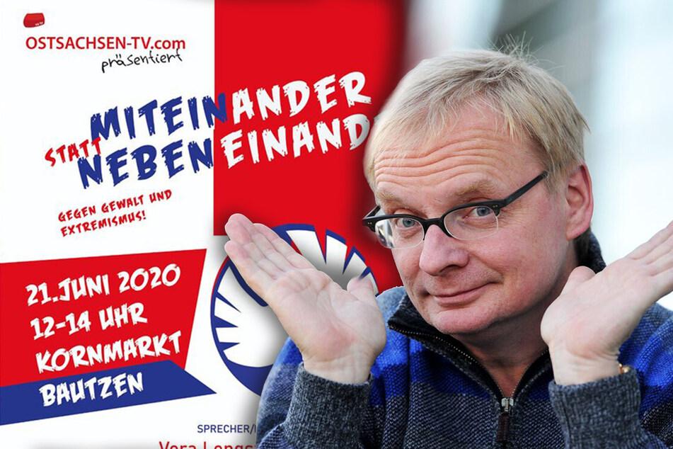 Demo mit Steimle in Bautzen abgesagt: Darum wollte der Oberbürgermeister mitmachen!