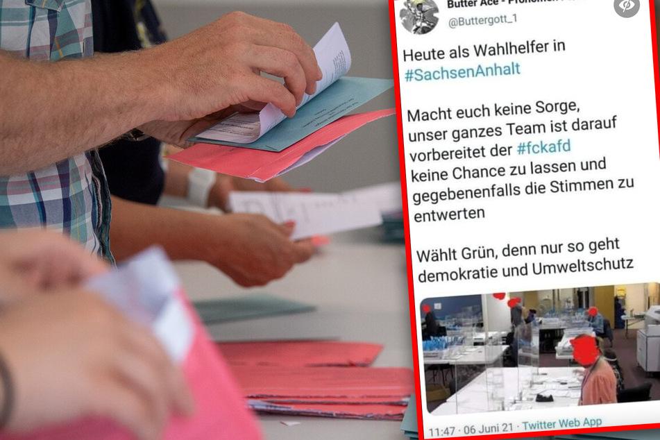 Angeblicher Wahlbetrug bei Landtagswahlen in Sachsen-Anhalt: Was ist an dem Bild dran?