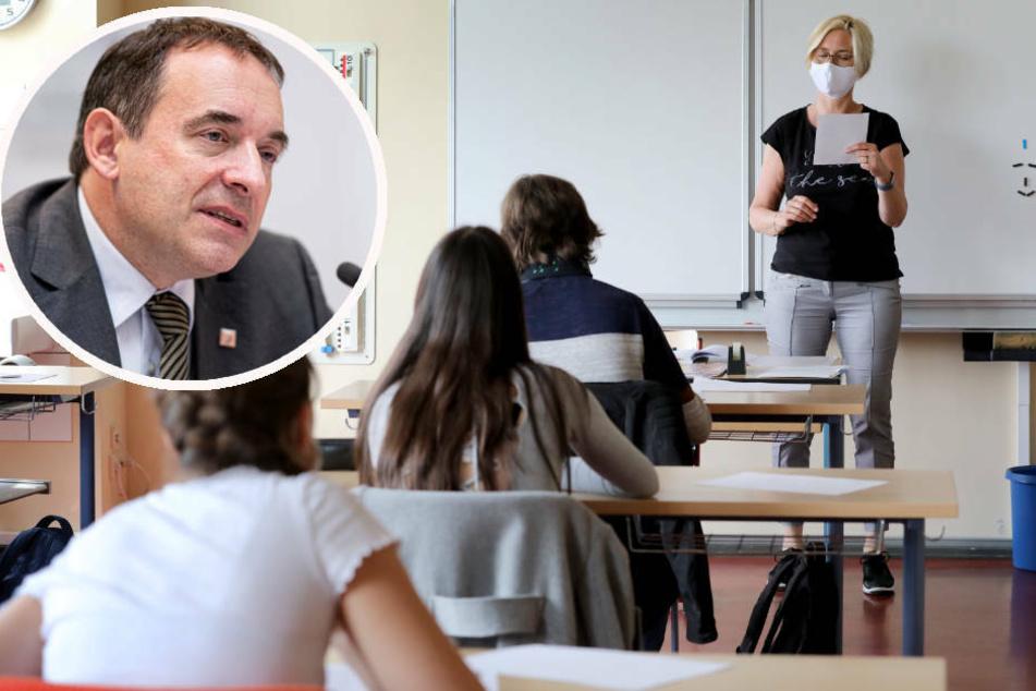Kultusminister Lorz: Kein regulärer Schul-Betrieb bis zu Sommerferien