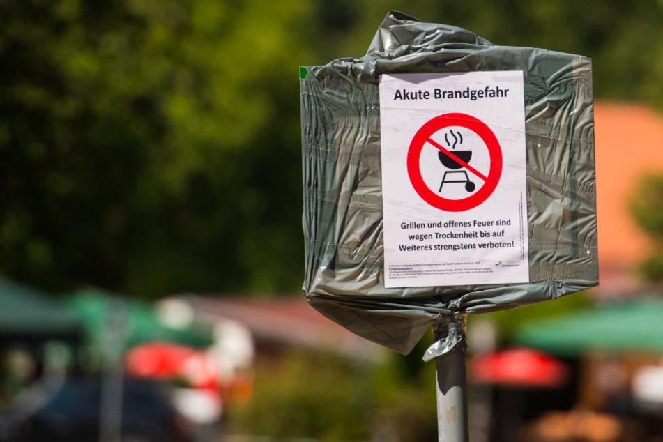 Waldbrand-Gefahr: Frankfurt verhängt Grill-Verbot in Parks