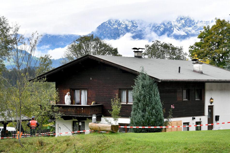 2019 ermittelte die Polizei ermittelt in einem Einfamilienhaus in Kitzbühel wegen fünffachen Mordes.