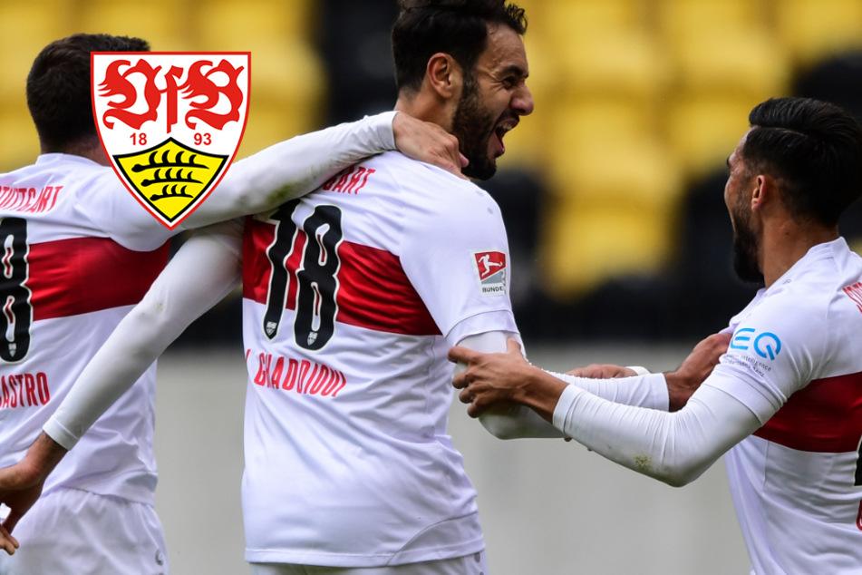 VfB mit souveränem Auswärtssieg gegen Dynamo Dresden