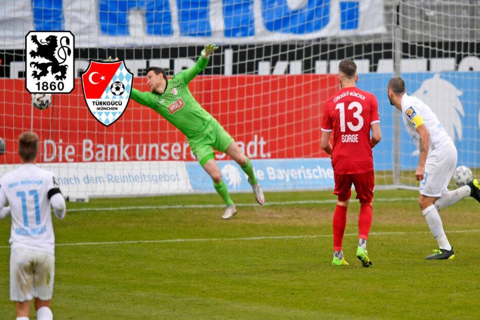 Schiri-Fehler, Rot, vier Tore! TSV 1860 ringt Türkgücü in Knallhart-Derby Unentschieden ab