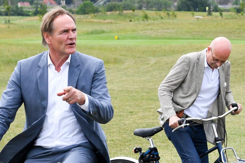 Baustart 2022? Halle und Leipzig wollen schnelle Strecke für Radfahrer