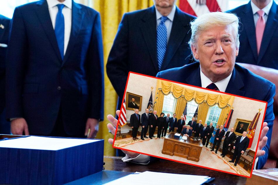 Coronavirus-Bekämpfung? Trump verstößt gegen eigene Richtlinien