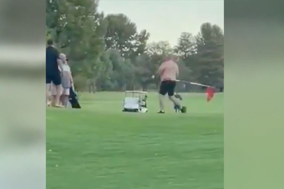 Charity event ends in subpar brawl between two drunk golfers