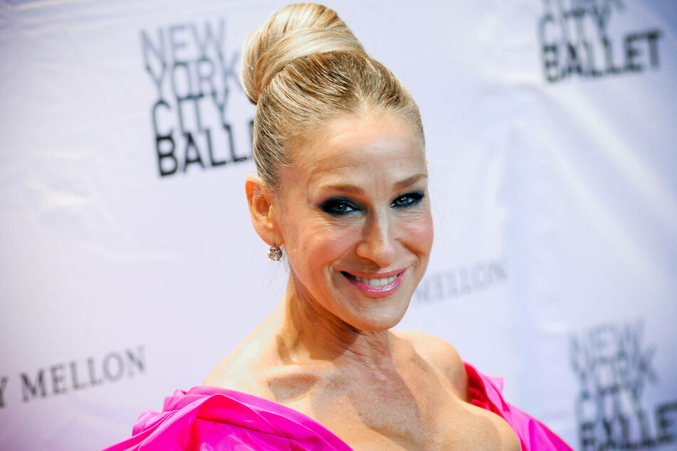Sarah Jessica Parker at the NYC Ballet Fall Fashion Gala held at Lincoln Center in New York City.