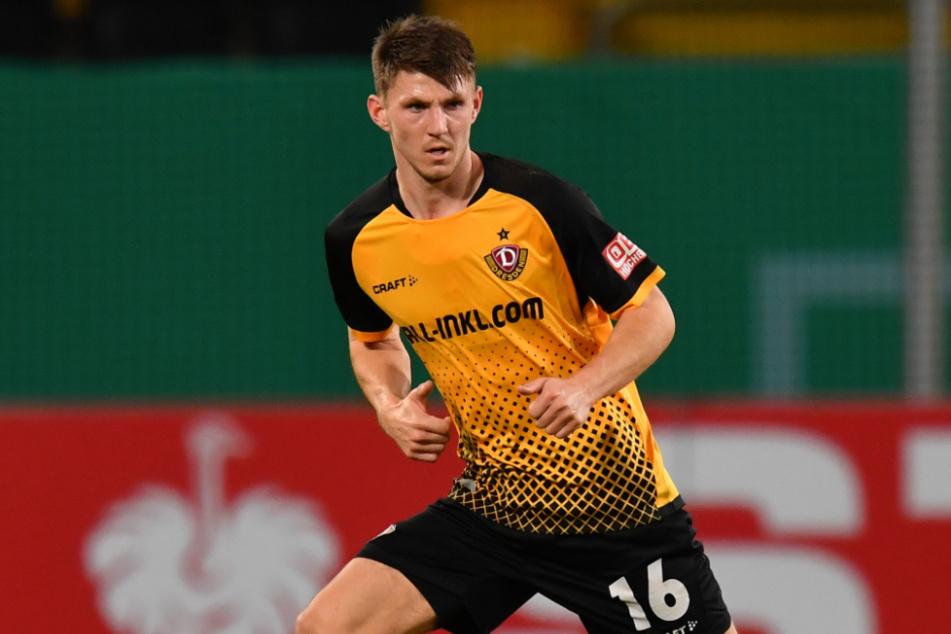 Robin Becker (24) wird Dynamo Dresden lange fehlen.