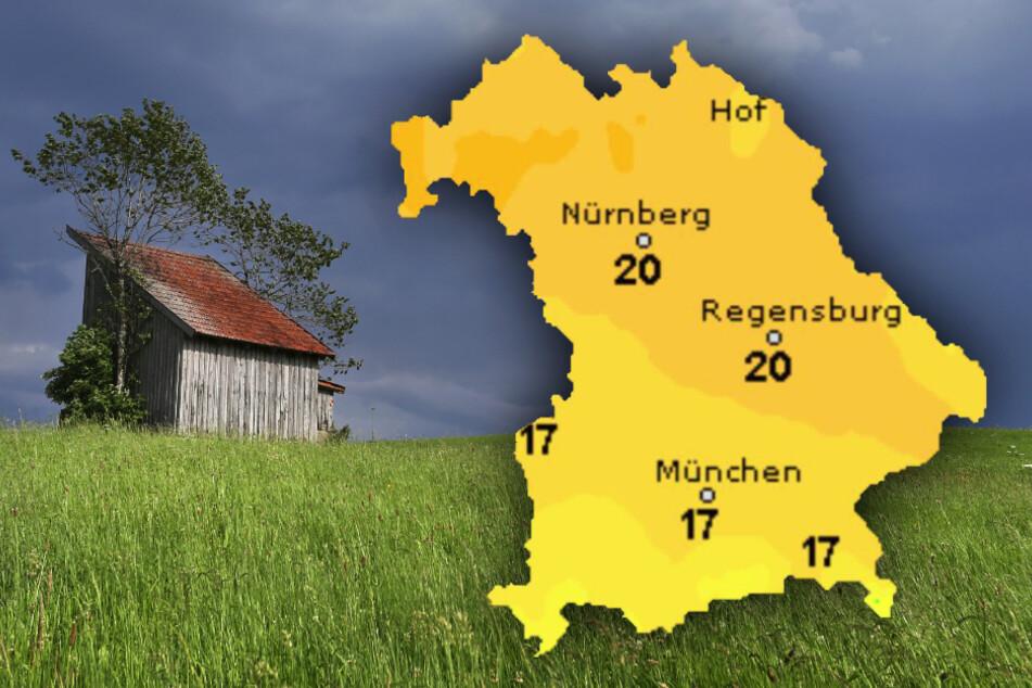 Regen und Gewitter in Bayern! So wird das Wetter in den nächsten Tagen