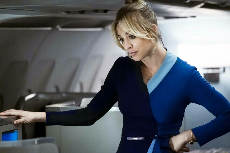 Kaley Cuoco was nominated for best actress for her role in The Flight Attendant (2020).
