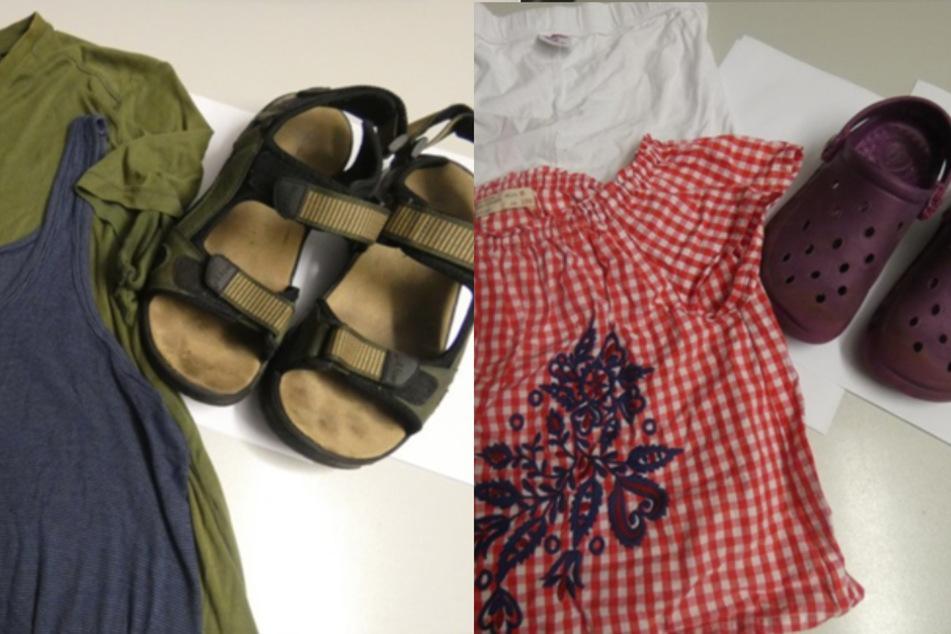 Die Polizei hatte ein Foto der gefundenen Kleidungsstücke veröffentlicht.