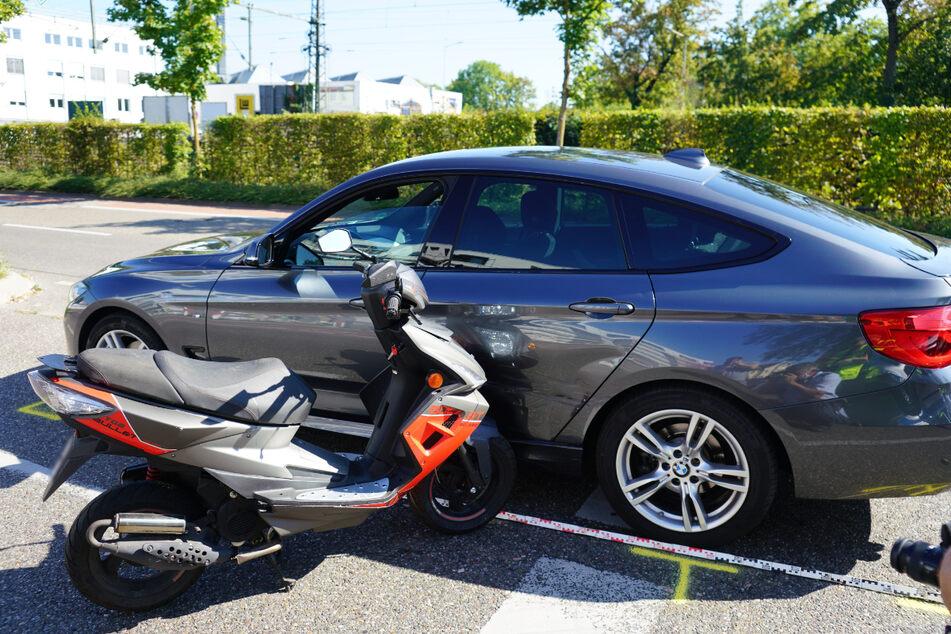 Plötzlich gab er Gas: 85-Jähriger stirbt bei Roller-Unfall