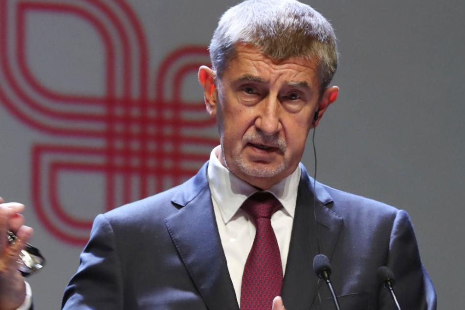 Tschechiens Regierungschef Andrej Babiš (66).