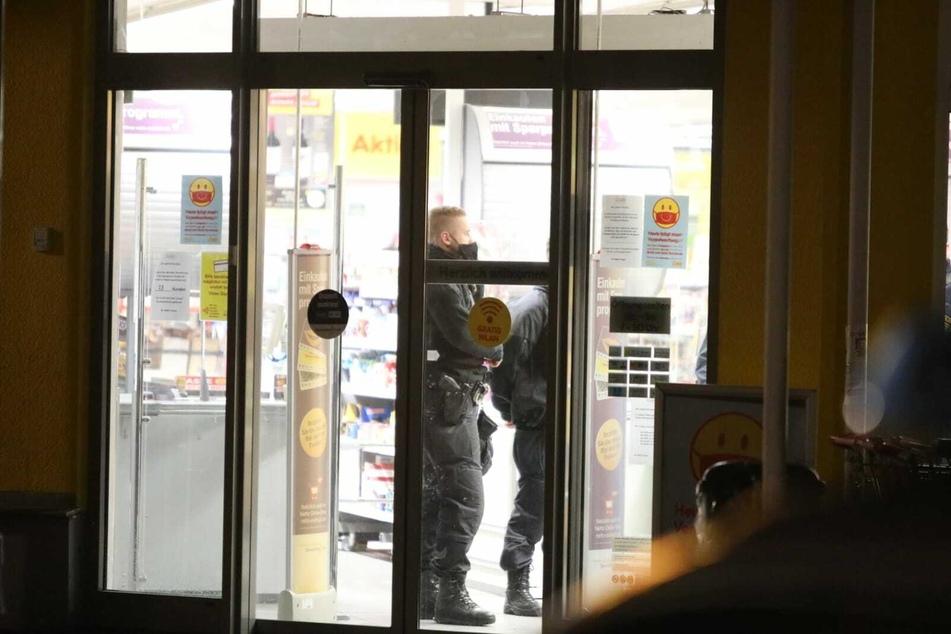 Ein Netto-Markt wurde am Donnerstagabend zum Schauplatz eines versuchten Überfalls.