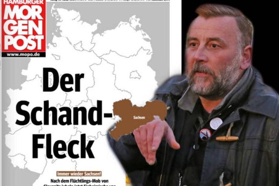 """Schandfleck""-Titelseite: Bachmann will Hamburger MOPO verklagen"