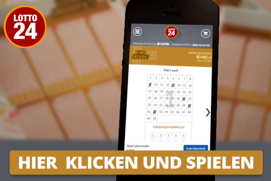 Auch mobil oder via Smartphone könnt Ihr beim Eurojackpot teilnehmen.