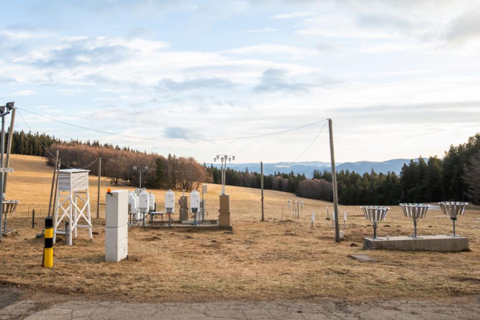 Klimawandel: Hier wird eine Luftmess-Station gebaut