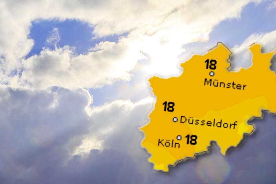 Die Höchsttemperaturen liegen am Dienstag bei ungefähr 18 Grad. In den nächsten Tagen wird sich die Sonne noch einmal durchsetzen. (Symbolbild)