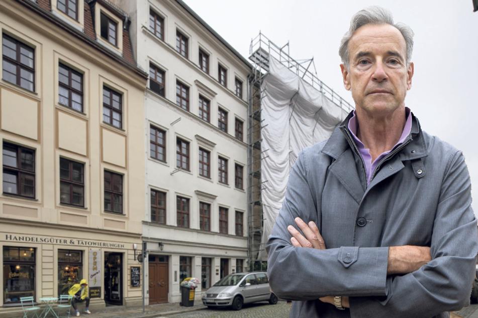 """Barockjuwel """"Hotel Stadt Leipzig"""": Sanierer wüten wie die Berserker"""