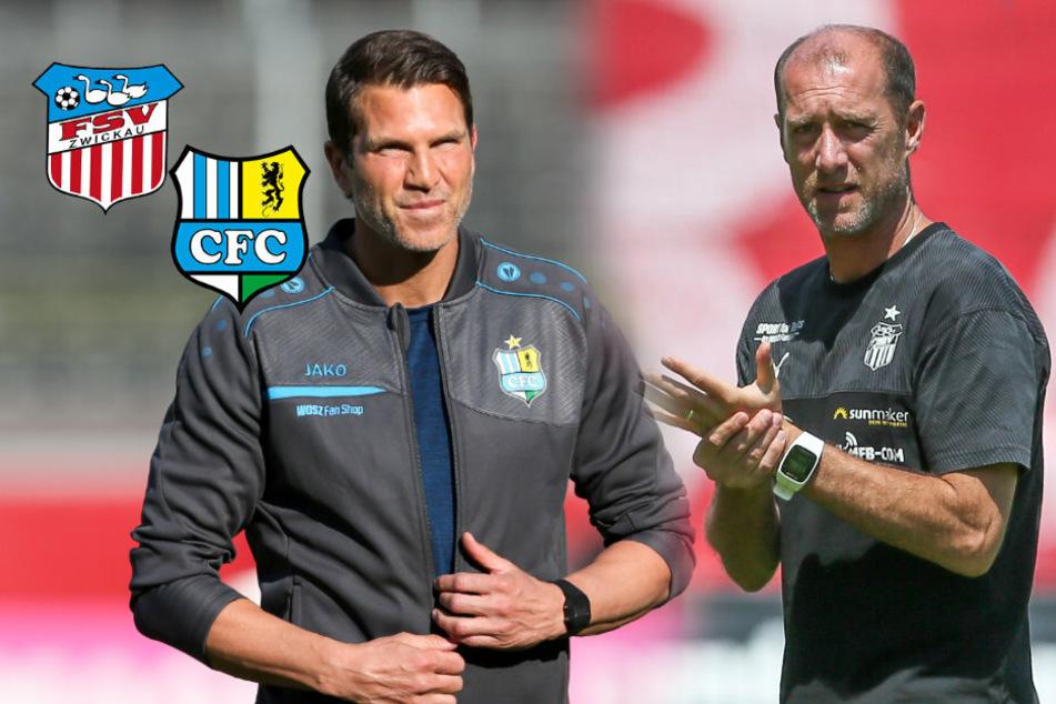 Derby zwischen dem FSV Zwickau und dem Chemnitzer FC: Hier geht es um alles