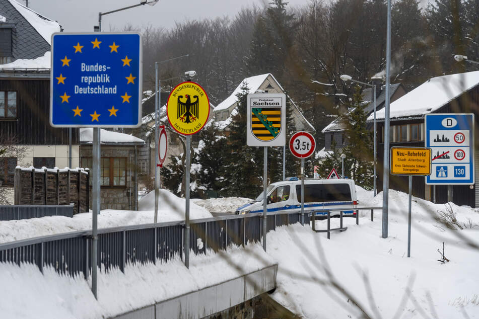 """""""Weggesperrt"""": Unternehmen im Erzgebirge fordern Grenzöffnung für Berufspendler"""