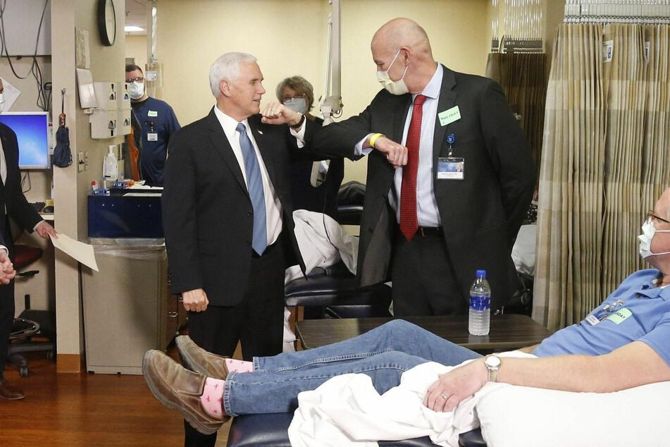 US-Vizepräsident Pence verzichtet bei Klinikbesuch auf Maske
