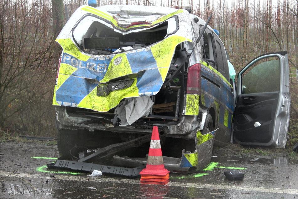 Thüringen: Immer mehr Polizeiautos an Unfällen beteiligt