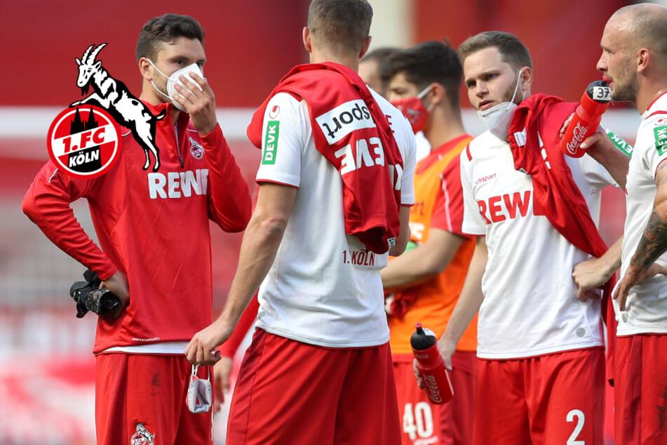 Sieg verschenkt: Achterbahn-Fahrt beim 1. FC Köln passt zu verrückter Saison