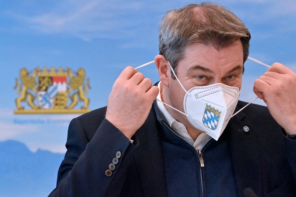 Markus Söder fordert bundesweite Notbremse für Corona-Hotspots