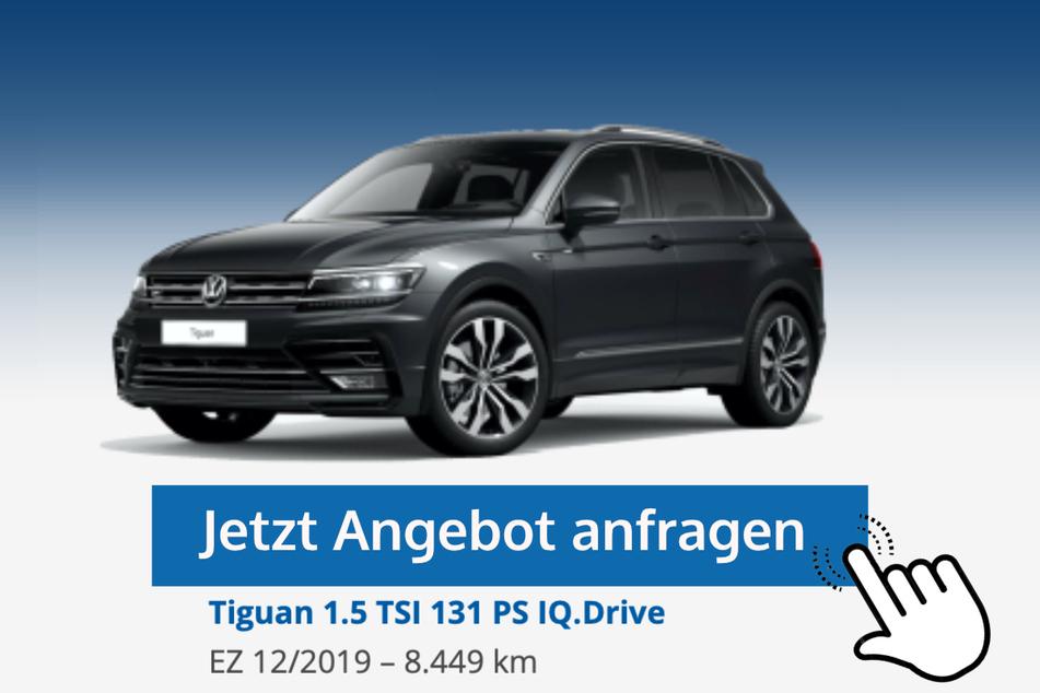 Tiguan (1.5 TSI 131 PS IQ.Drive) für 25.890 Euro bzw. 269 Euro/Monat*