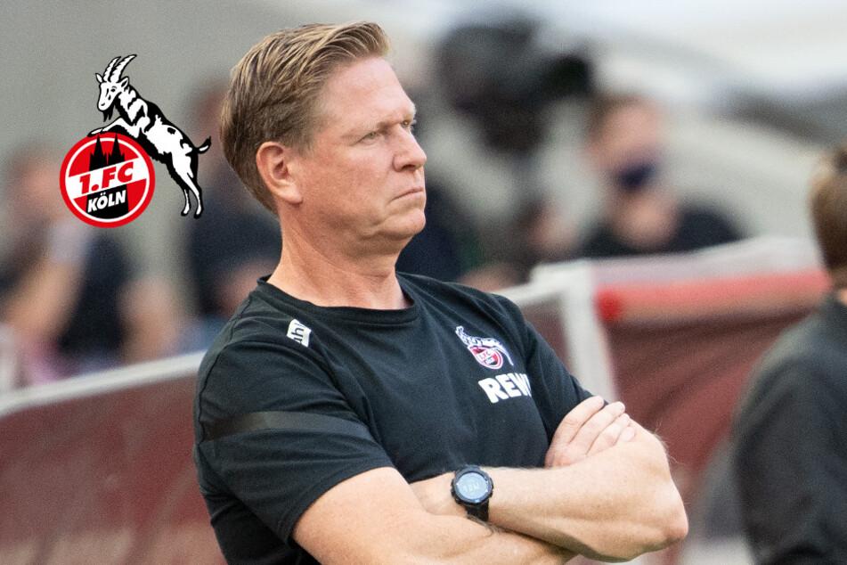 1. FC Köln: Trainer Gisdol nach später Auftakt-Pleite bedient