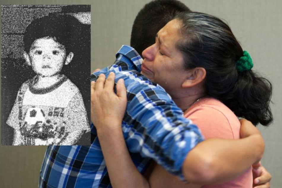 Mutter sieht entführten Sohn nach 21 Jahren wieder