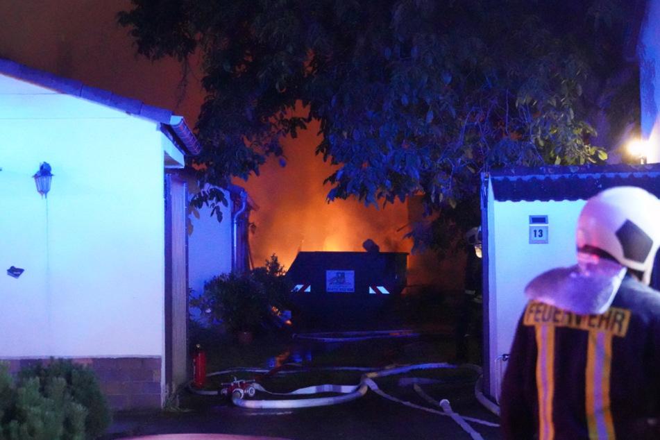 Großbrand in Scheune: Serientäter am Werk?