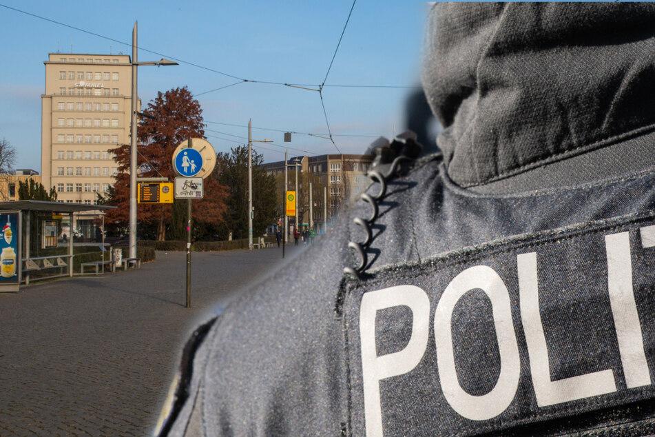 Die Polizei untersucht, weshalb die Situation im Haltestellenbereich am Albertplatz in Dresden eskalierte (Symbolbild).