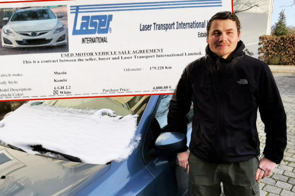 4000 Euro futsch! Danny aus Sachsen zahlte für ein Auto, das er nie bekam