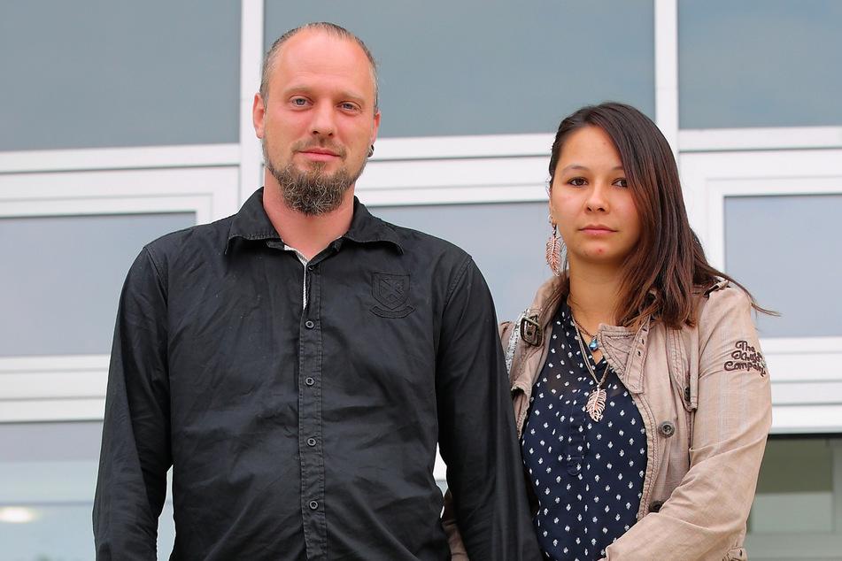 Manuela S. (33) und ihr jetziger Lebensgefährte John K. (38) kamen als Zeugen ins Gericht.
