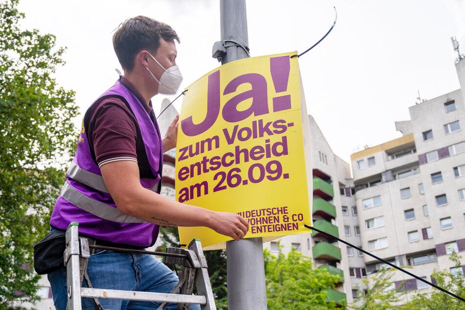 """Aktuelles Beispiel: Die Initiative """"Deutsche Wohnen & Co. enteignen"""" will einen Volksentscheid in Berlin an den Start bringen."""