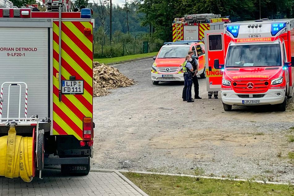 Gas-Alarm: Mitarbeiter von Imbissstand verletzt