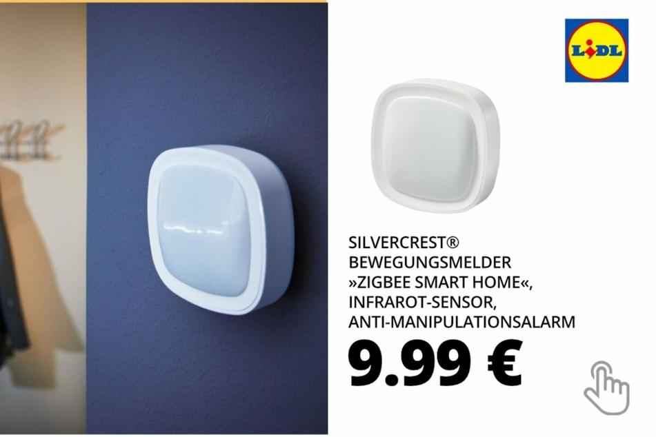 "SILVERCREST Bewegungsmelder ""Zigbee Smart Home"", Infrarot-Sensor, Anti-Manipulationsalarm"