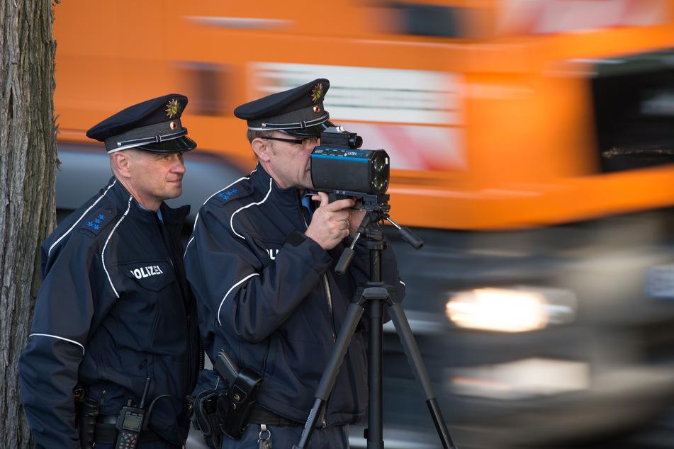 Seit Ende April hat die Polizei in Dresden 60.000 Verkehrssünder erwischt.