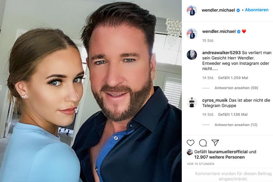 Endlich zeigen sich Michael Wendler (48) und seine Laura (20) wieder auf Instagram, allzu begeistert sind seine Follower aber nicht von seiner Rückkehr.