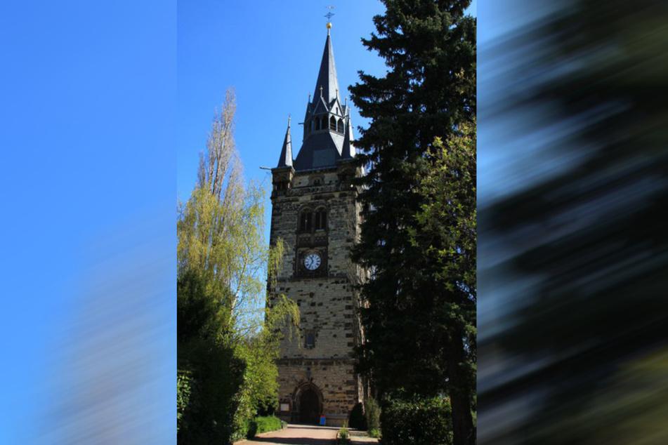 Die Kirche in Briesnitz.