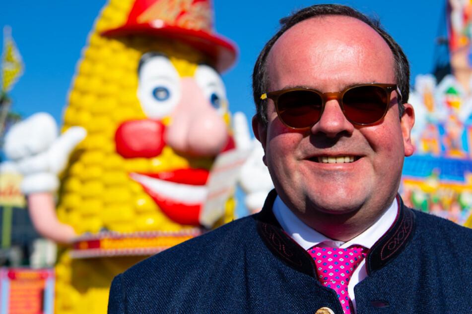 Wiesn-Chef Clemens Baumgärtner (44, CSU) will den guten Ruf des Münchner Oktoberfests schützen.