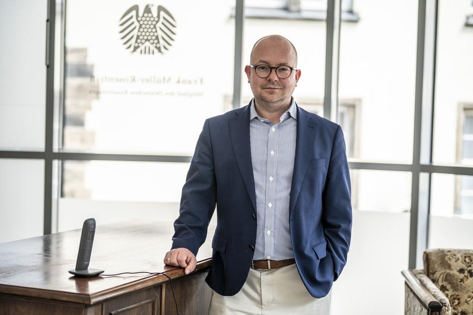 Bundestagsabgeordneter und Stadtrat Frank Müller-Rosentritt (38, FDP) erkundigte sich nach der Verwendung der Maut in Chemnitz.