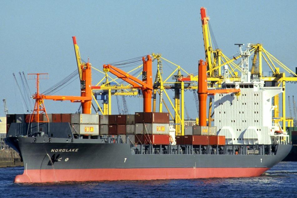 Ein Frachtschiff der Reederei Oldendorff. (Symbolfoto)