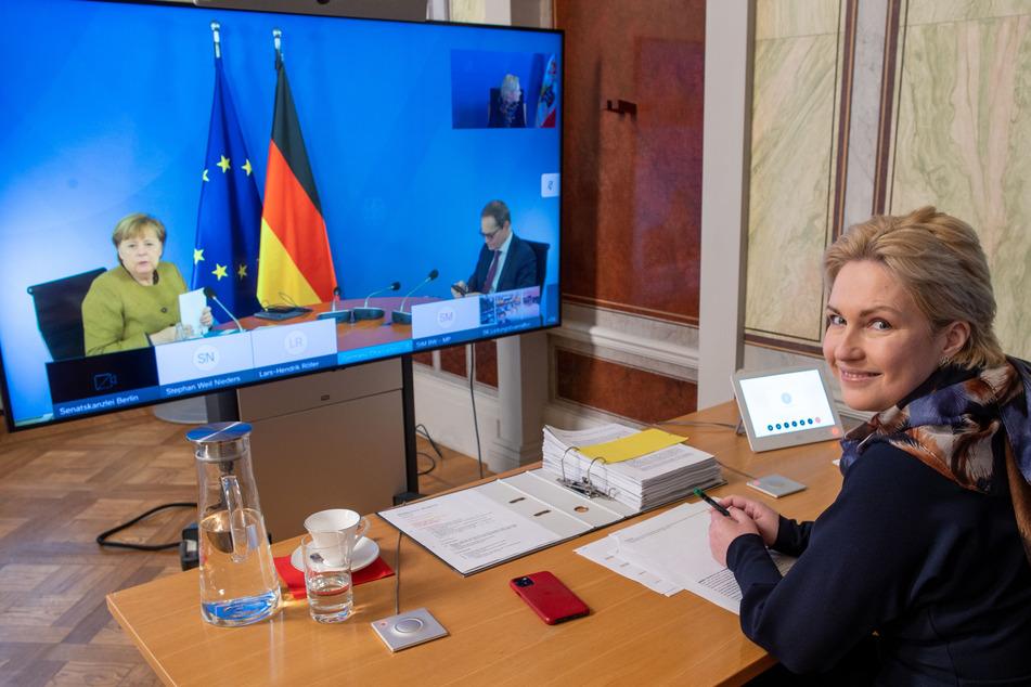 Wie zuletzt am 5. Januar soll es in der kommenden Woche erneut eine Konferenz zwischen Angela Merkel und allen Ministerpräsidenten der Bundesländer geben.