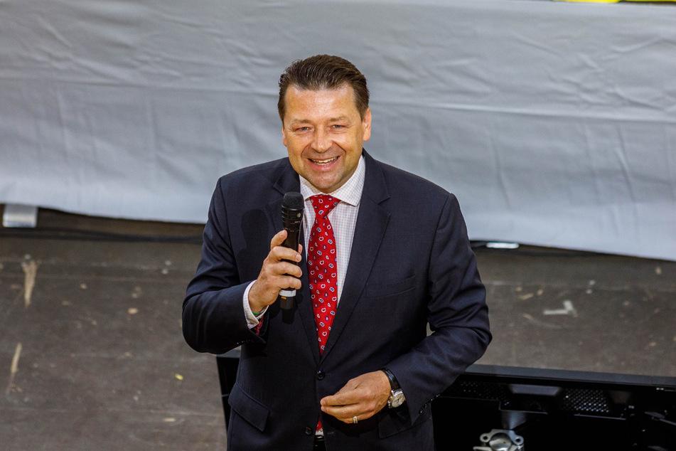 Holger Scholze wurde als Präsident im Amt bestätigt.