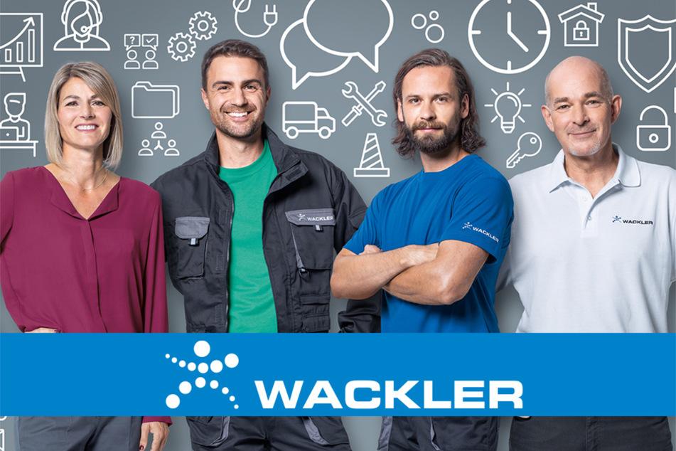 Die Mitarbeiter der Wackler Personal-Service GmbH haben den richtigen Job für Euch parat.
